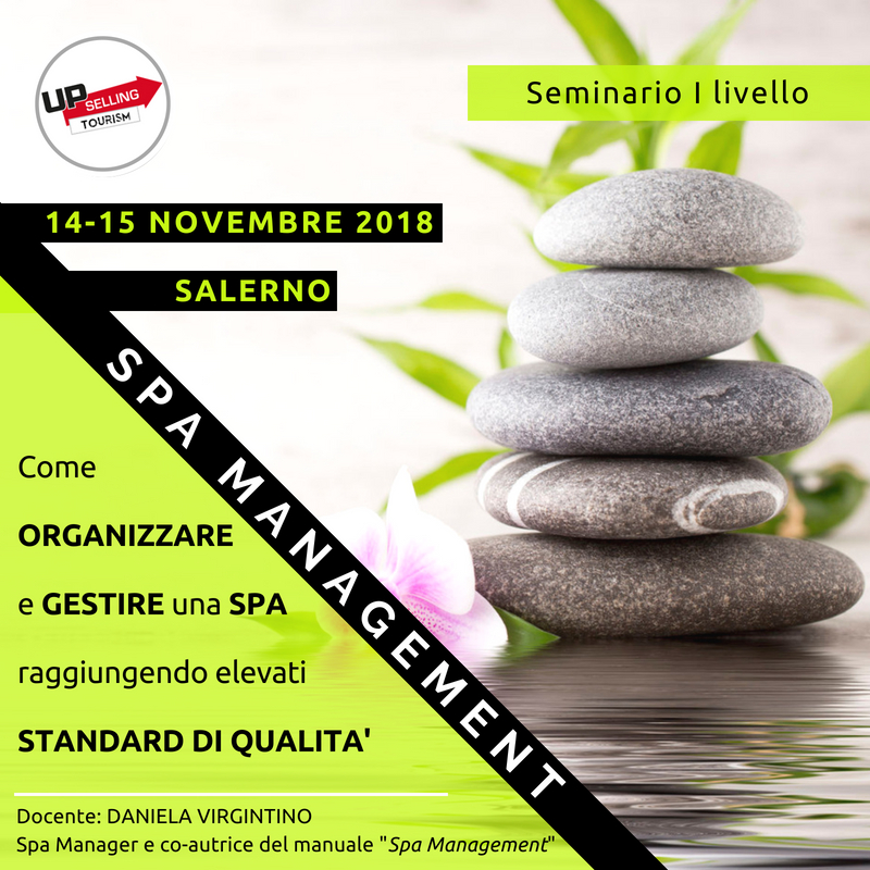 Corso Spa Management 14 e 15 novembre 2018 a Salerno